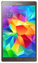 "Планшетный компьютер Samsung Galaxy Tab S T700 8.4""/16Gb/WiFi/BT/Titan Silver"