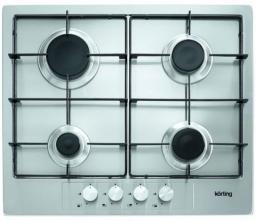 Встраиваемая газовая варочная панель Korting HG 675 X