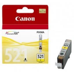 Картридж к МФУ и принтерам Canon CLI-521Y, желтый (2936B004)