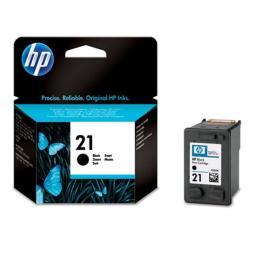 Картридж к МФУ и принтерам HP 21 (C9351AE), черный
