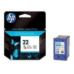 Картридж к МФУ и принтерам HP 22 (C9352AE), многоцветный