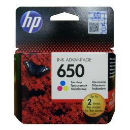 Картридж HP 650 Tri-colour