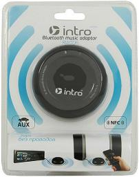 Bluetooth music adaptor Intro RW706 Black