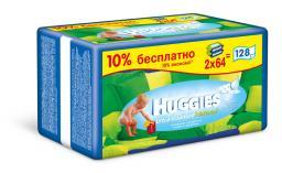 """Влажные детские салфетки Huggies """"Ultra Comfort"""" без отдушин 128 шт"""