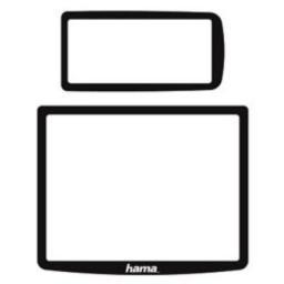 Комплект защитных стекол для ЖК экранов для Nikon D300, Hama