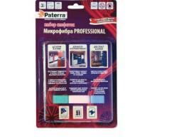 Набор микрофибра Professional 3шт. в асс, 30х40см, блистер, Paterra /12, 406-015