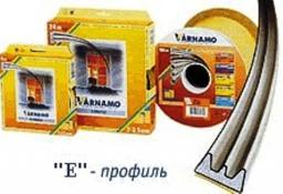 Уплотнитель Varnamo E белый 6м (24 шт/уп), 536