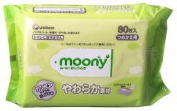 Влажные салфетки детские Moony 80 шт