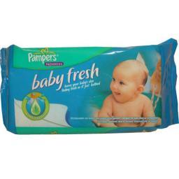 Влажные салфетки детские Pampers Baby Fresh 64шт