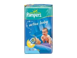 "Подгузники Pampers ""Active Baby"" Midi 4-9 кг, 62/64шт"