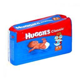 """Подгузники Huggies """"Classic"""" 2 3-6 кг, 37 шт"""