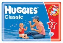 """Подгузники Huggies """"Classic"""" 3 4-9 кг, 31 шт"""