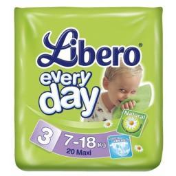 "Подгузники Libero ""Everyday"" Maxi 7-18 кг, 20 шт"