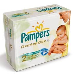 "Подгузники Pampers ""Premium Care"" Mini 3-6 кг, 32шт"