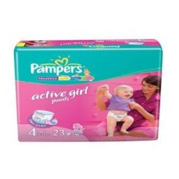 "Трусики Pampers ""Active Girl"" Maxi 9-14 кг, 23 шт"
