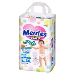 Трусики Merries L 9-14 кг, 44 шт