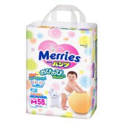 Трусики Merries M 6-10 кг, 58 шт