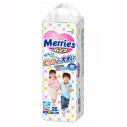 Трусики Merries XXL 15-28 кг, 26 шт