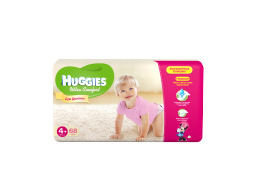 """Подгузники Huggies """"Ultra Comfort"""" Giga для девочек 4+ 10-16 кг, 68 шт"""