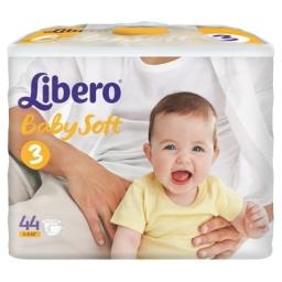 "Подгузники Libero ""Baby Soft"" Midi 4-9 кг, 44 шт"