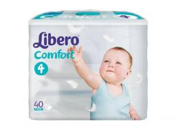 "Подгузники Libero ""Comfort"" Maxi 7-14 кг, 40 шт"