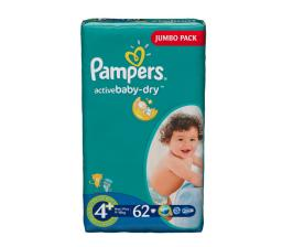 "Подгузники Pampers ""Active Baby"" Maxi Plus 9-16 кг, 62шт"