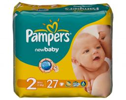 "Подгузники Pampers ""New Baby"" 3-6 кг, 27шт"