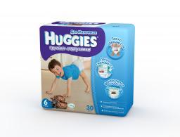 "Трусики Huggies ""Little Walkers"" Jumbo 6 для мальчиков 16-22 кг, 30 шт"