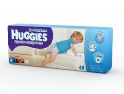 """Трусики Huggies """"Little Walkers"""" Mega 5 для мальчиков 13-17 кг, 48 шт"""