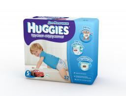 "Трусики Huggies ""Little Walkers"" Jumbo 5 для мальчиков 13-17 кг, 32 шт"