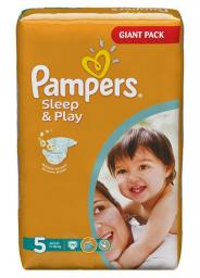"Подгузники Pampers ""Sleep & Play"" Junior 11-18 кг, 74шт"