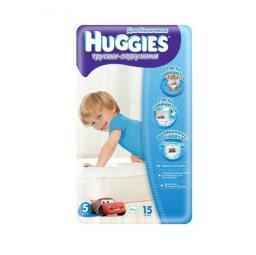 """Трусики Huggies """"Little Walkers"""" Mega 5 для мальчиков 13-17 кг, 15 шт"""