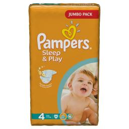 "Подгузники Pampers ""Sleep & Play"" Maxi 7-14 кг, 68шт"