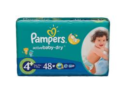 "Подгузники Pampers ""Active Baby"" Maxi Plus 9-16 кг, 48шт"