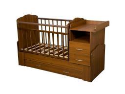 """Детская кровать-трансформер с маятником """"Алита"""""""
