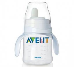 Набор тренировочный Avent 125мл  (бутылочка 125мл, ручки, мягкий носик) SCF625/01