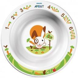 Тарелка малая глубокая 6мес+ Avent SCF706/00