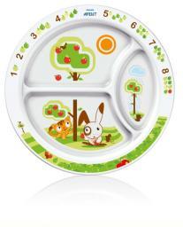 Тарелка порционная 12мес+ Avent SCF702/00