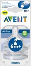 Соска Avent Classic для густых жидкостей 2 шт 6мес+ SCF636/27