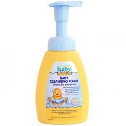 Пенка BabyLine детская для умывания лица, рук, тела (с помпой) 250 мл