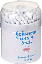 Палочки Johnson's Baby ватные 100 шт