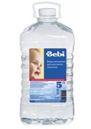 Вода Bebi детская 5 л