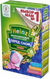Каша Heinz Многозерновая из 3 злаков с липой и ромашкой, с 6 мес, 200 г, б/мол.