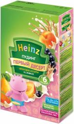 Каша Heinz Пудинг фруктовое ассорти в сливках с 6 мес, 200 г, мол.