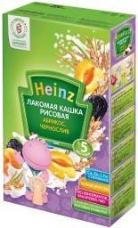 """Каша Heinz """"Лакомая"""" Рисовая с абрикосом, черносливом с 5 мес, 200 г, мол."""