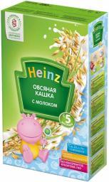 Каша Heinz Овсяная с 5 мес, 250 г, мол. 90581