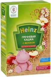 Каша Heinz Гречневая с яблоком с 4 мес, 200 г, б/мол.