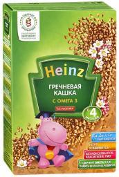 Каша Heinz Гречневая с Омега 3 с 4 мес, 200 г, б/мол.