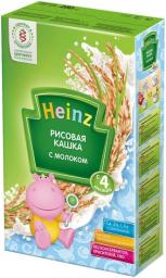 Каша Heinz Рисовая с 4 мес, 250 г, мол.