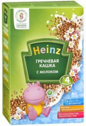 Каша Heinz Гречневая с 4 мес, 250 г, мол.